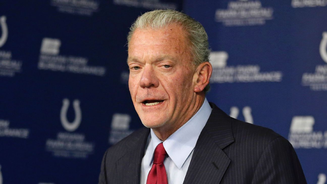 Colts owner Jim Irsay said he's