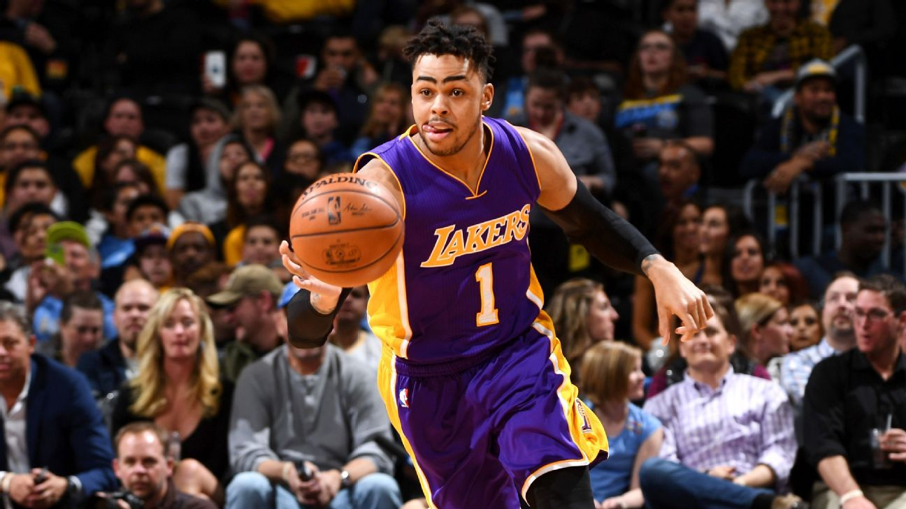 Magic Johnson -- D Angelo Russell good but Los Angeles Lakers needed leader abc99666a