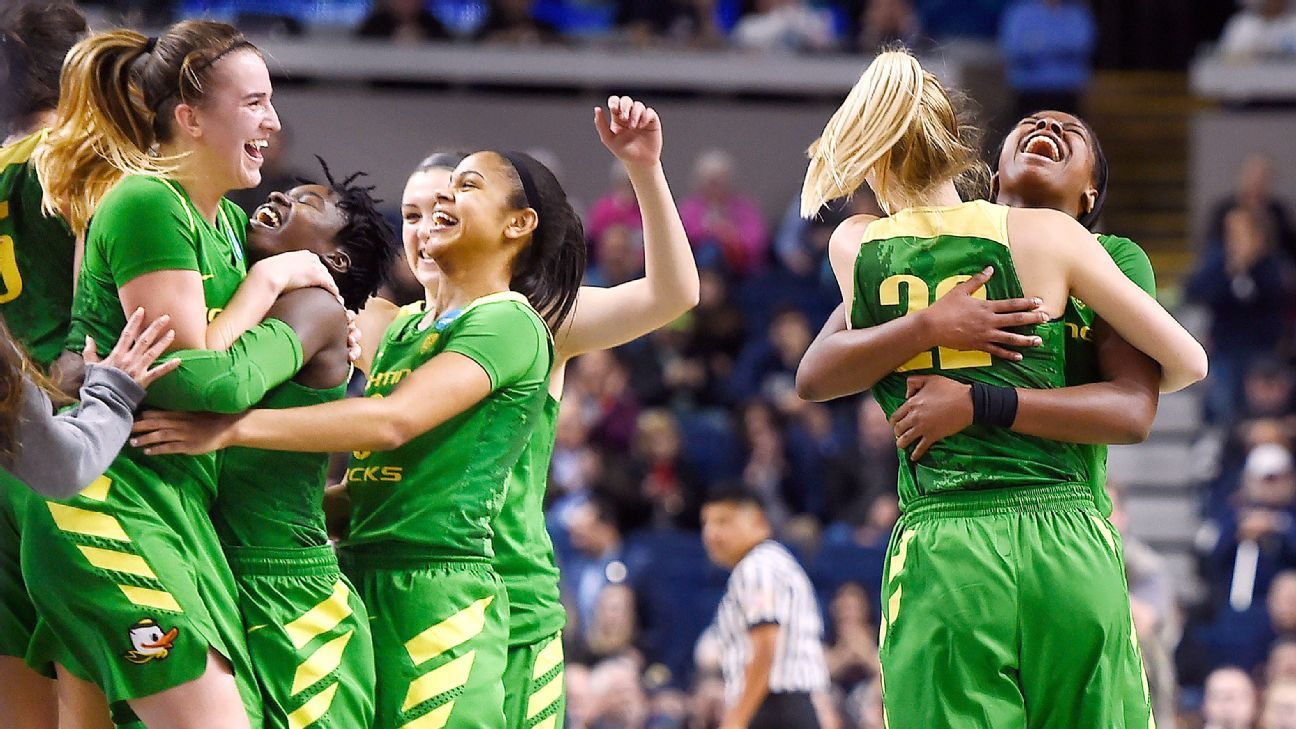 Womens Ncaa Tournament - Upset-Minded Oregon Ducks Set Sights On No 1 Connecticut