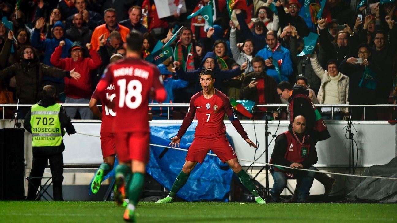Ronaldo and Portugal's golden generation