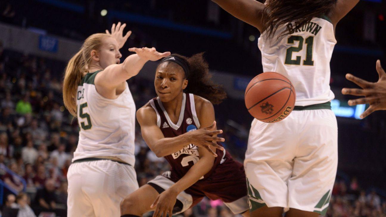 Women's NCAA tournament - Morgan William scores 41 points ...