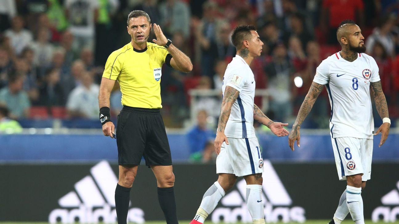 Cameroon vs. Chile - Football Match Summary - June 18, 2017 - ESPN