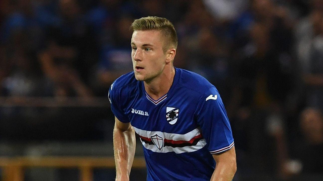 Inter Milan Secure Signing Of Defender Milan Skriniar From Sampdoria