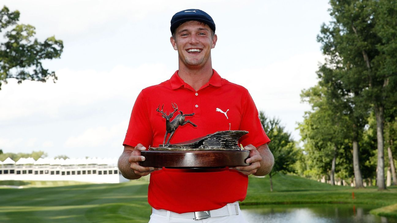 72047009eb0 Bryson DeChambeau rallies to win John Deere Classic for 1st PGA Tour title