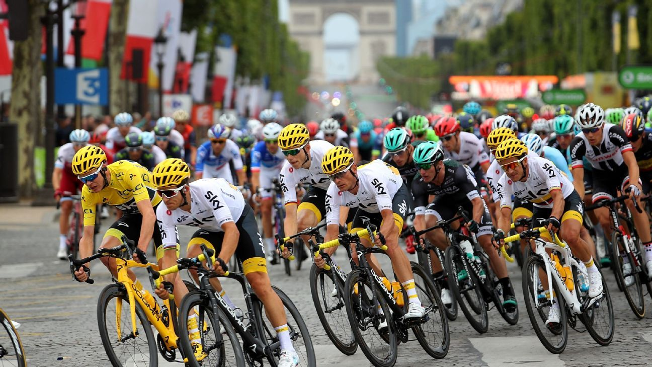 af3b4e9f8 2017 Tour de France -- Sky s Chris Froome is still unflappable