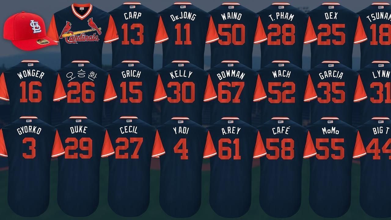 2665e2fd6 SportsNation -- Which is your favorite St. Louis Cardinals MLB Players  Weekend nickname