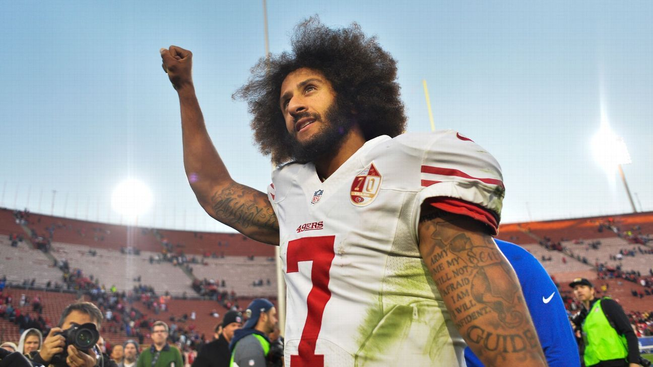 fa20715f68e Colin Kaepernick items to be part of Black Lives Matter collection at  Smithsonian s National Museum of African American History and Culture