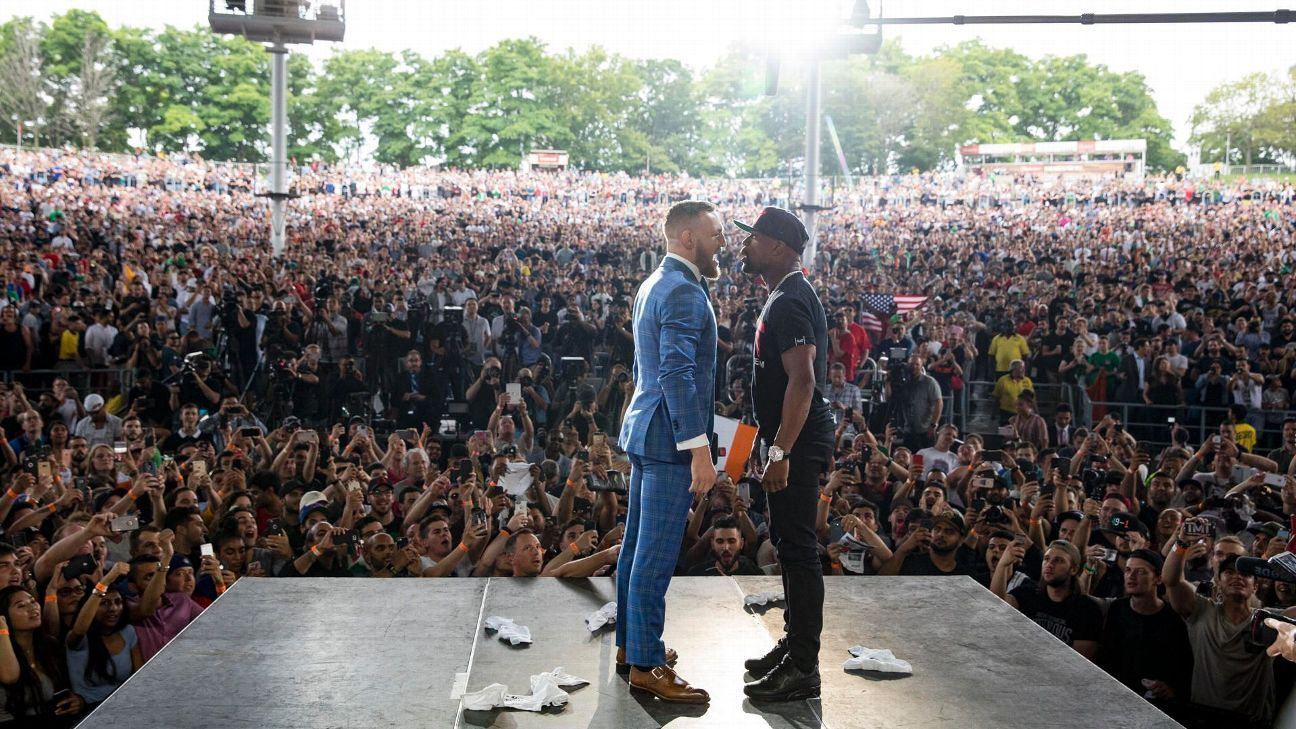 The betting event of the 2010s: Mayweather vs. McGregor