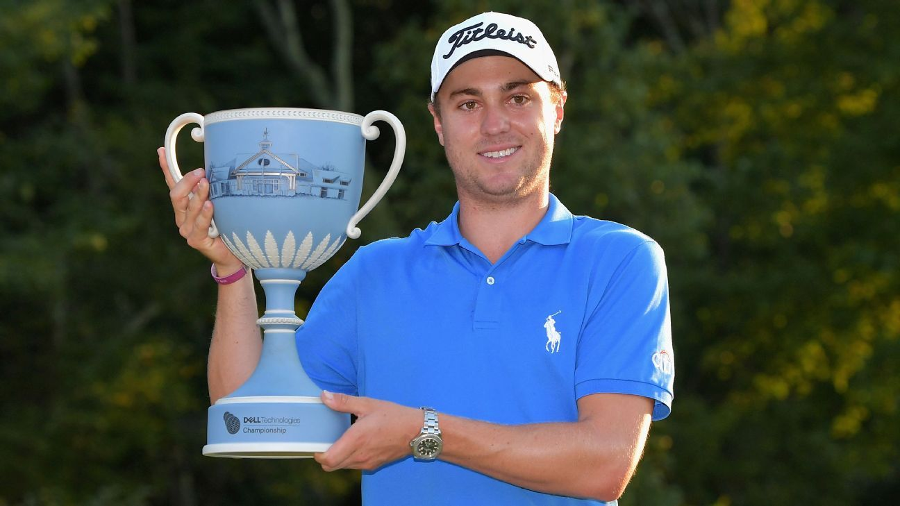Golf After Dell Technologies Championship Win Justin Thomas