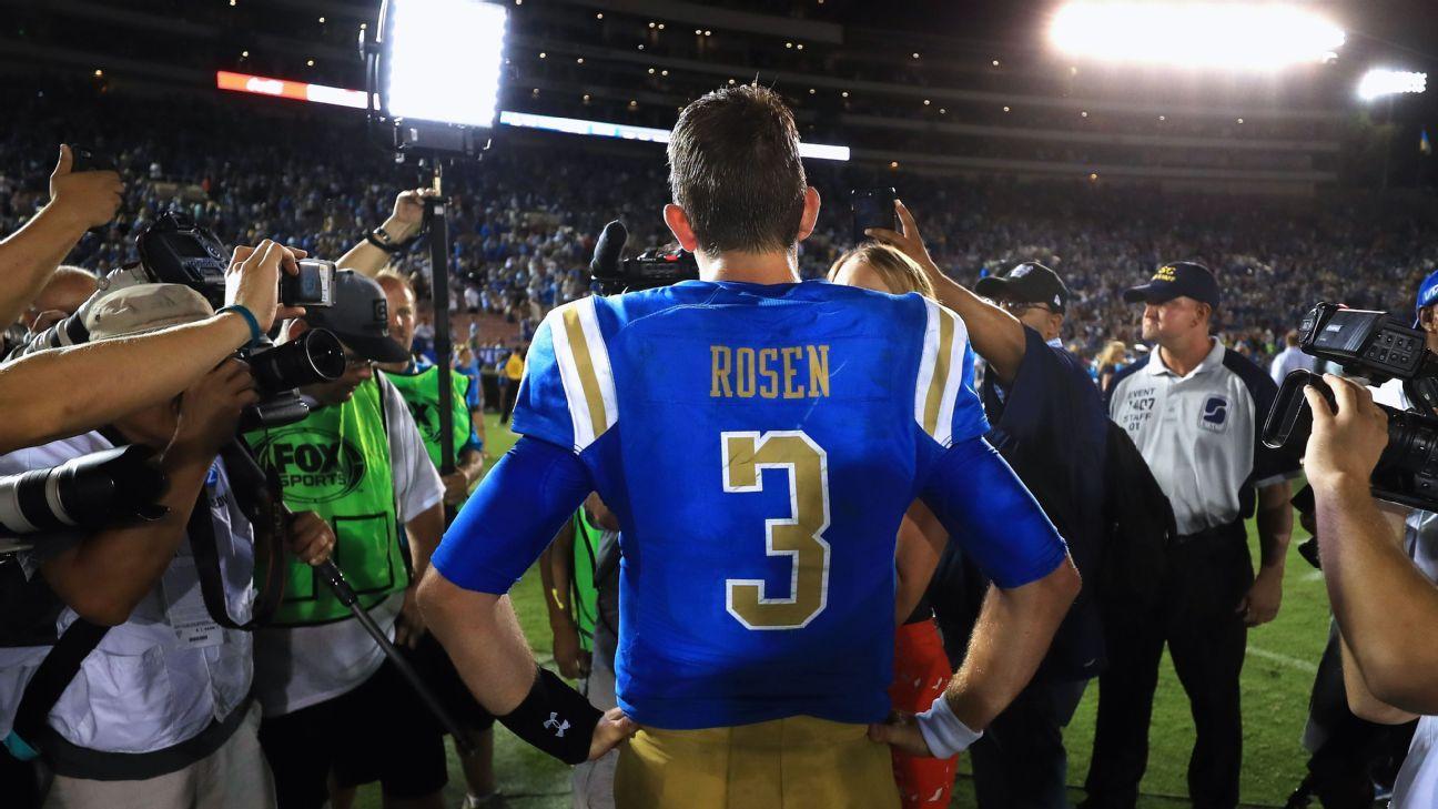 UCLA Bruins quarterback Josh Rosen education maturation 3e4af04fa