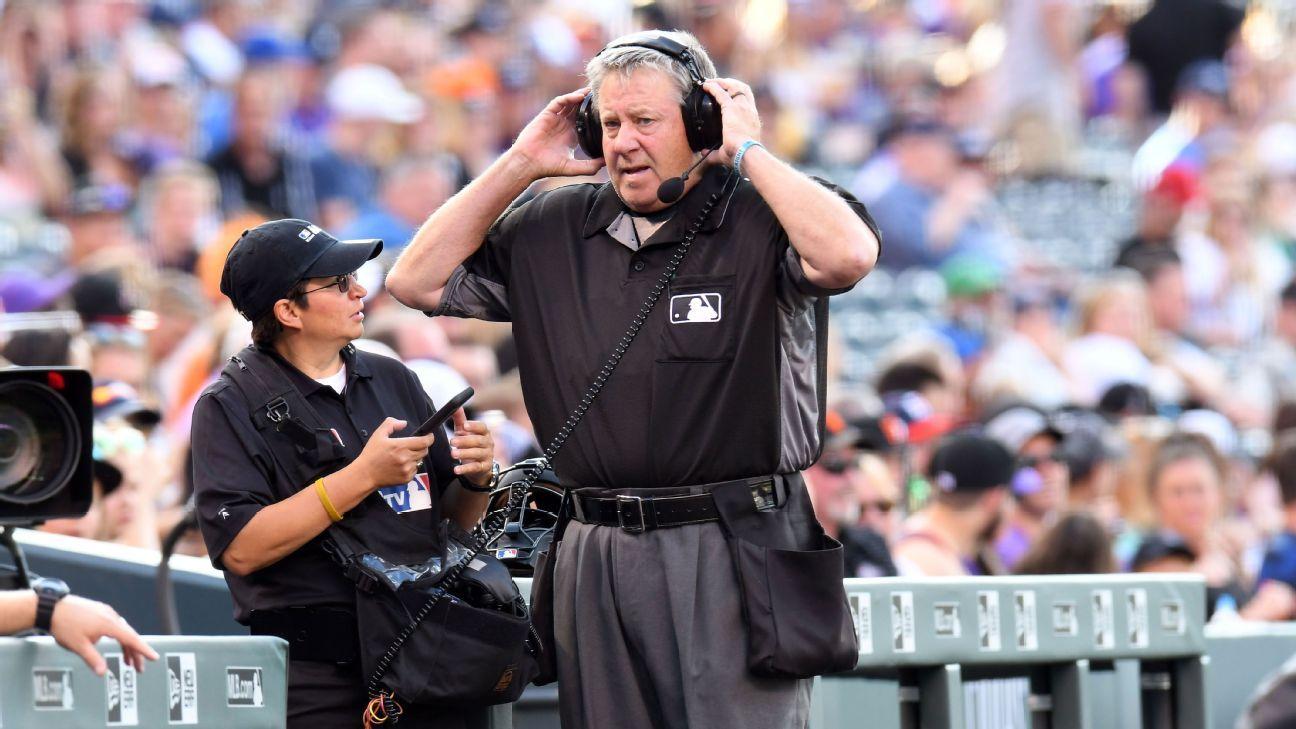 MLB doubles camera angles for umpire video reviews – ESPN
