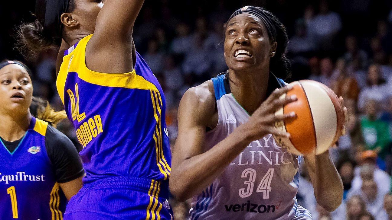 b838b8606acdf7 Minnesota Lynx outlast Los Angeles Sparks to win fourth WNBA championship