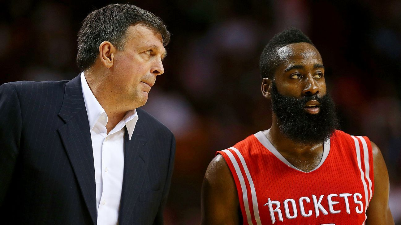 2aefe3d3311 Kevin McHale - James Harden calling me  a clown  won t change my opinion of  his leadership skills