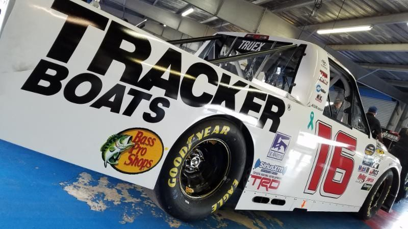 Tundra Racing Series >> HRE and Ryan Truex add Bass Pro Shops as primary sponsor ...