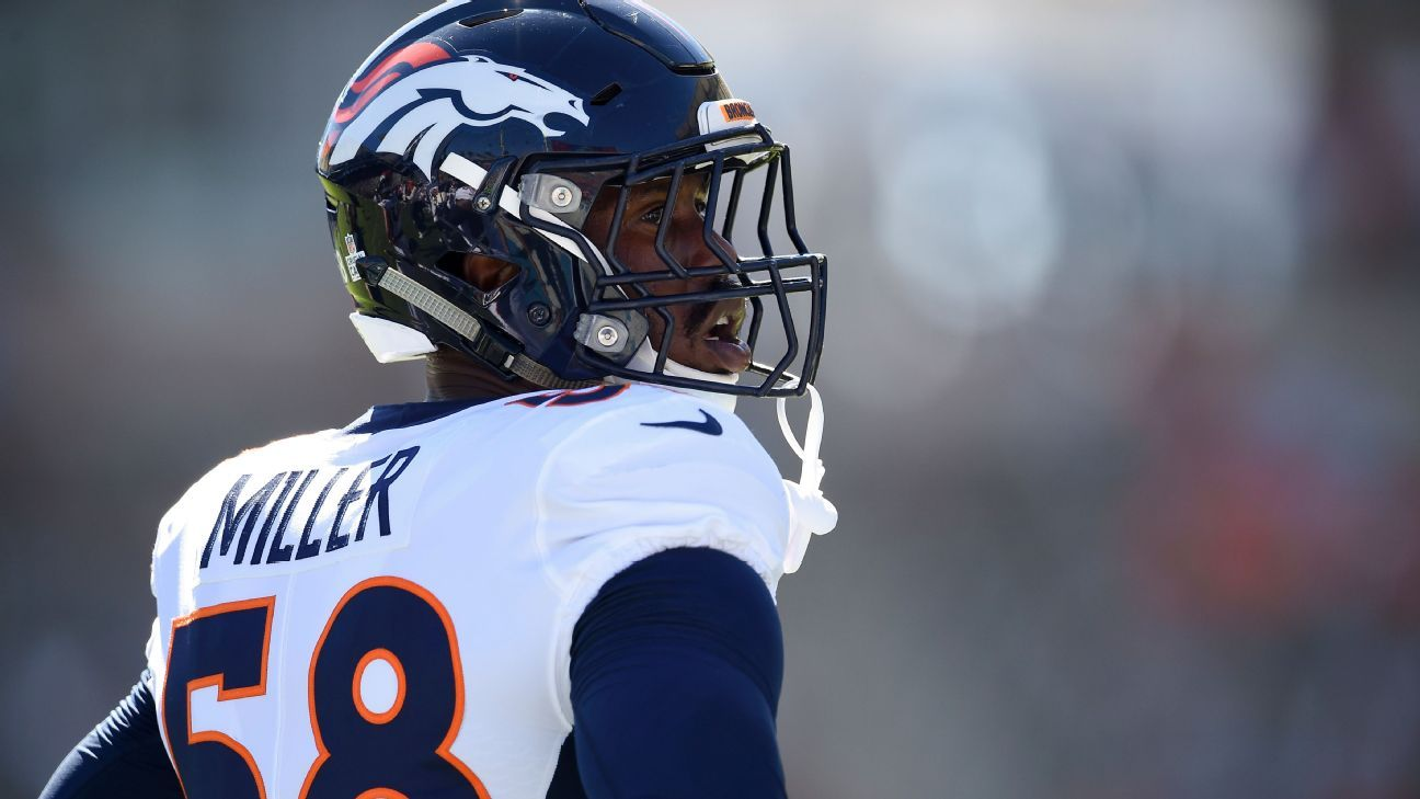 Denver Broncos linebacker Von Miller reportedly won't be prosecuted after an investigation in Florida over a shark catch on a fishing trip.