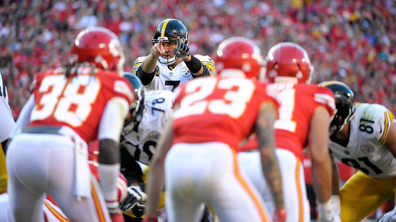 990f9ee2709 Pittsburgh Steelers quarterback Ben Roethlisberger is hiding in plain ...