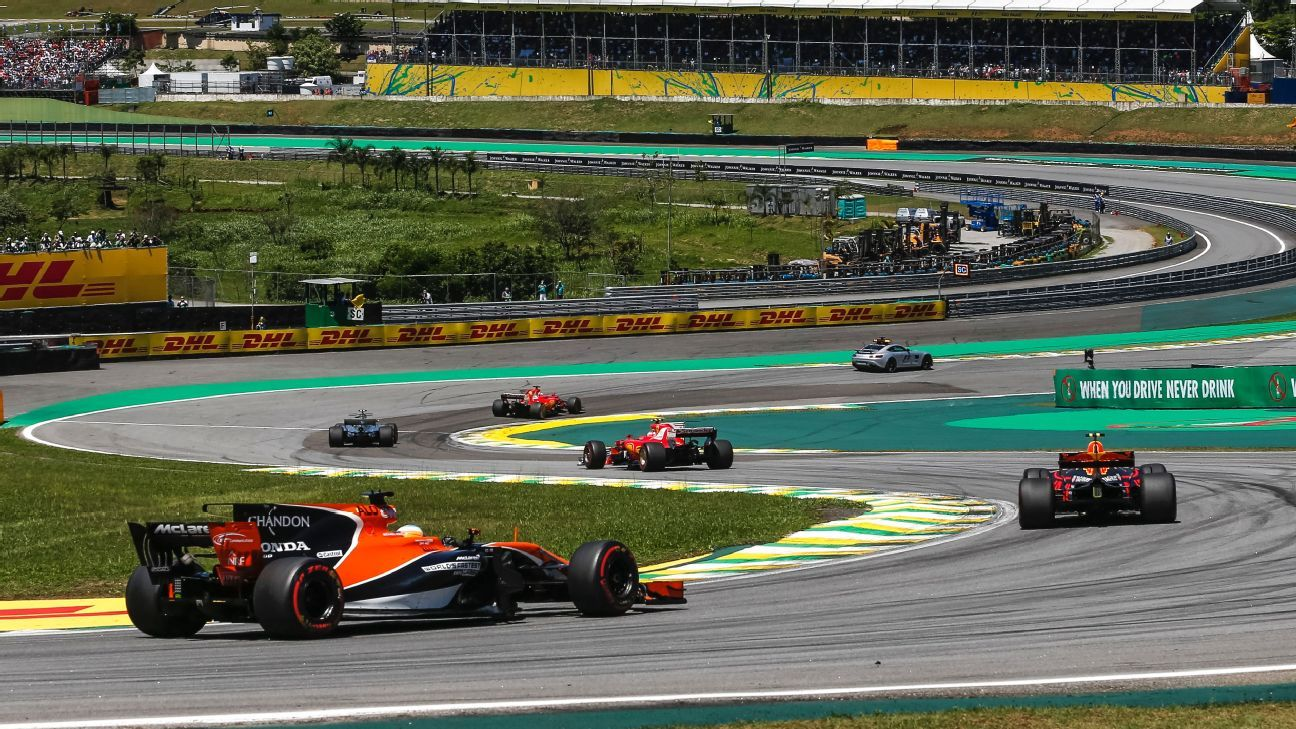 Circuit Interlagos : Interlagos circuit handed security recommendations for 2018 f1 race