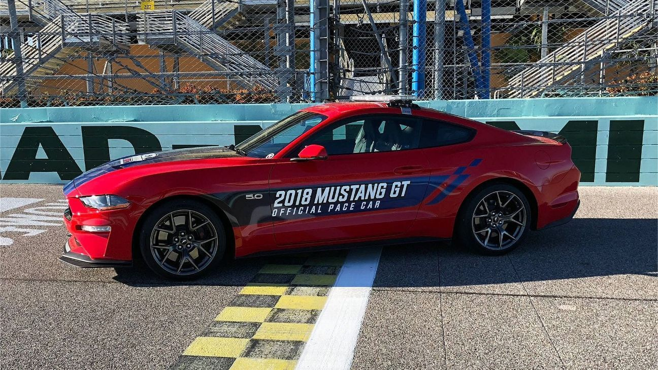 Mustang to pace ford ecoboost 400 championship race at homestead
