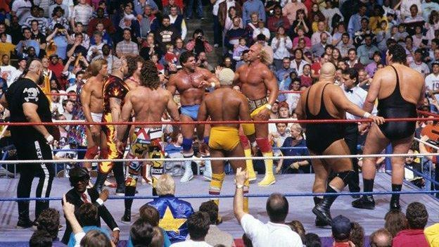 Survivor Series 1987 >> Wwe Revisiting The Beginning Of The Survivor Series Tradition On