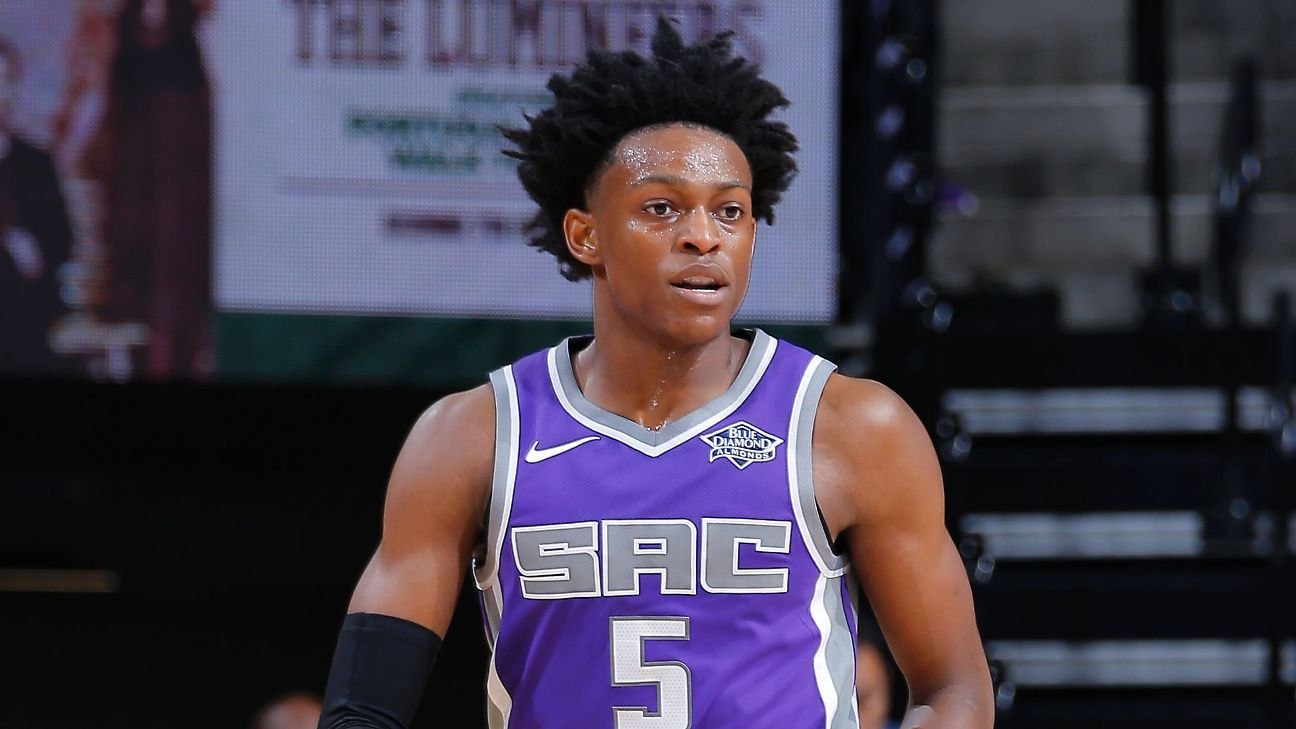 De'Aaron Fox of Sacramento Kings out two weeks with partial tear in right quadriceps muscle