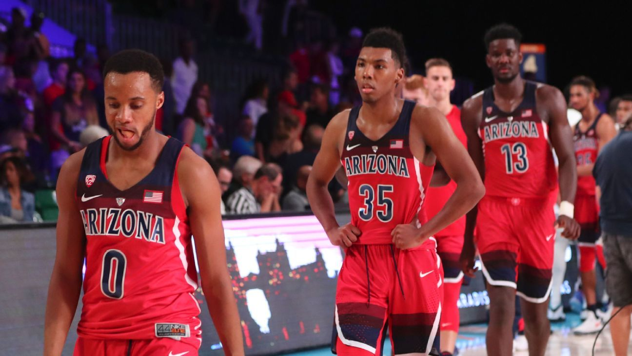 College basketball power rankings the fall of the Arizona Wildcats 64b8c9d0b