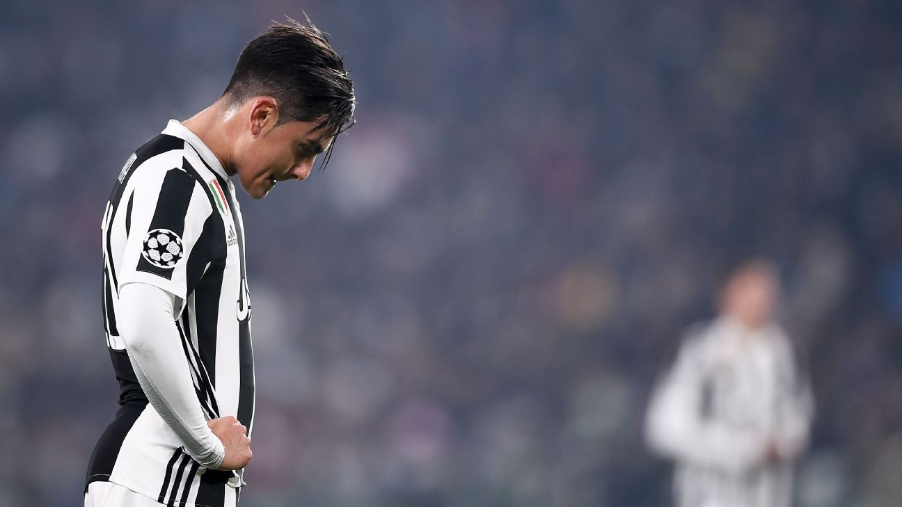 Paulo Dybala struggling to deal with Juventus responsibility - Massimiliano  Allegri 354525f5a