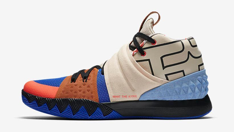 750f28ce0f82 NBA  The personal touches Kyrie Irving works into every pair of sneakers he  wears
