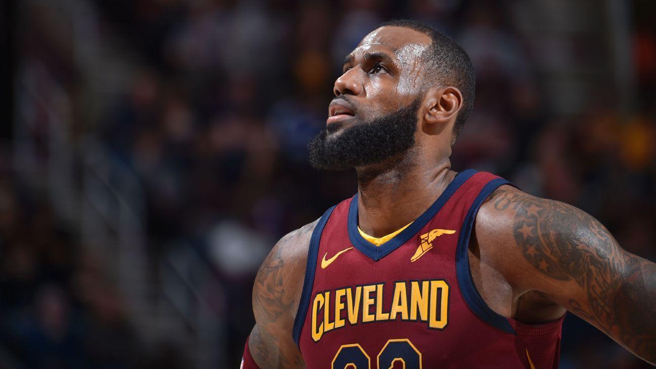 248e01e98dee Kevin Pelton - Is LeBron James breaking the aging curve  - NBA