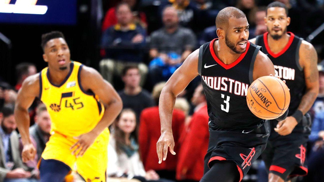 d80835cfe989 NBA -- Second-unit Chris Paul is basketball s most dangerous weapon
