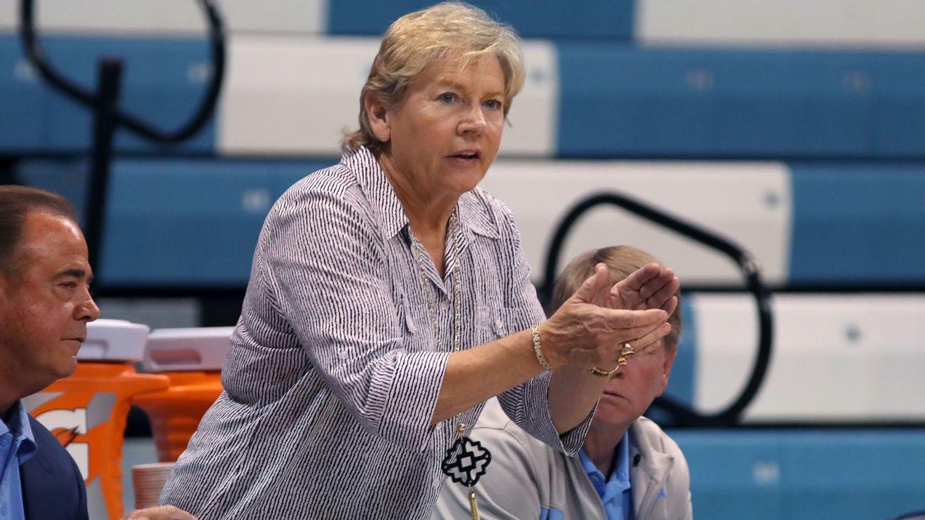 UNC women's coach Hatchell resigns amid probe