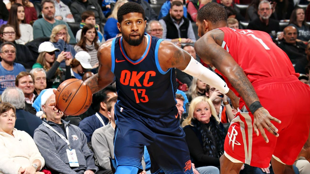 29cebfc6047 Paul George says he would ve joined Lakers if he wasn t traded by Pacers