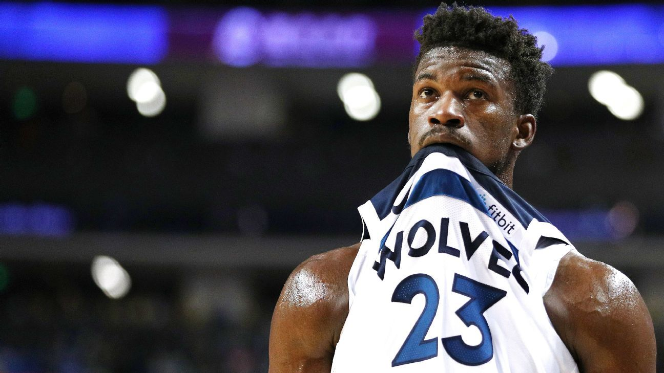 9a6b97ad5d65 NBA -- How the Minnesota Timberwolves  future could hinge on Jimmy Butler s  contract situation