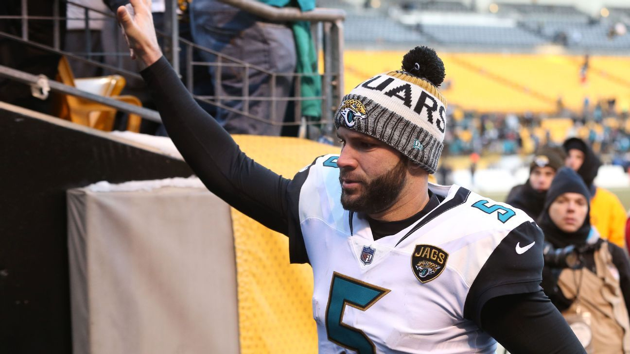 Jacksonville Jaguars quarterback Blake Bortles hoping to remain with team  next season 620f3254aed