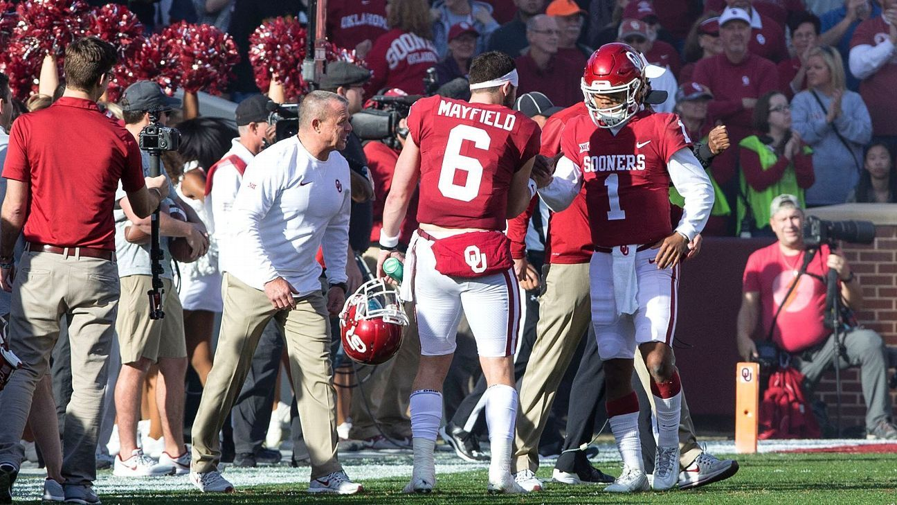 Oklahoma S Lincoln Riley Must Forge New Qb Bond With Kyler