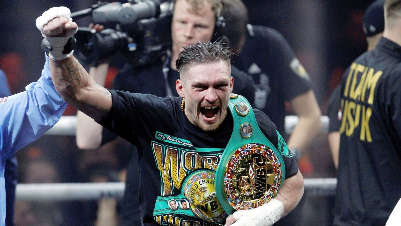 Is cruiserweight Oleksandr Usyk the real threat to Anthony Joshua's