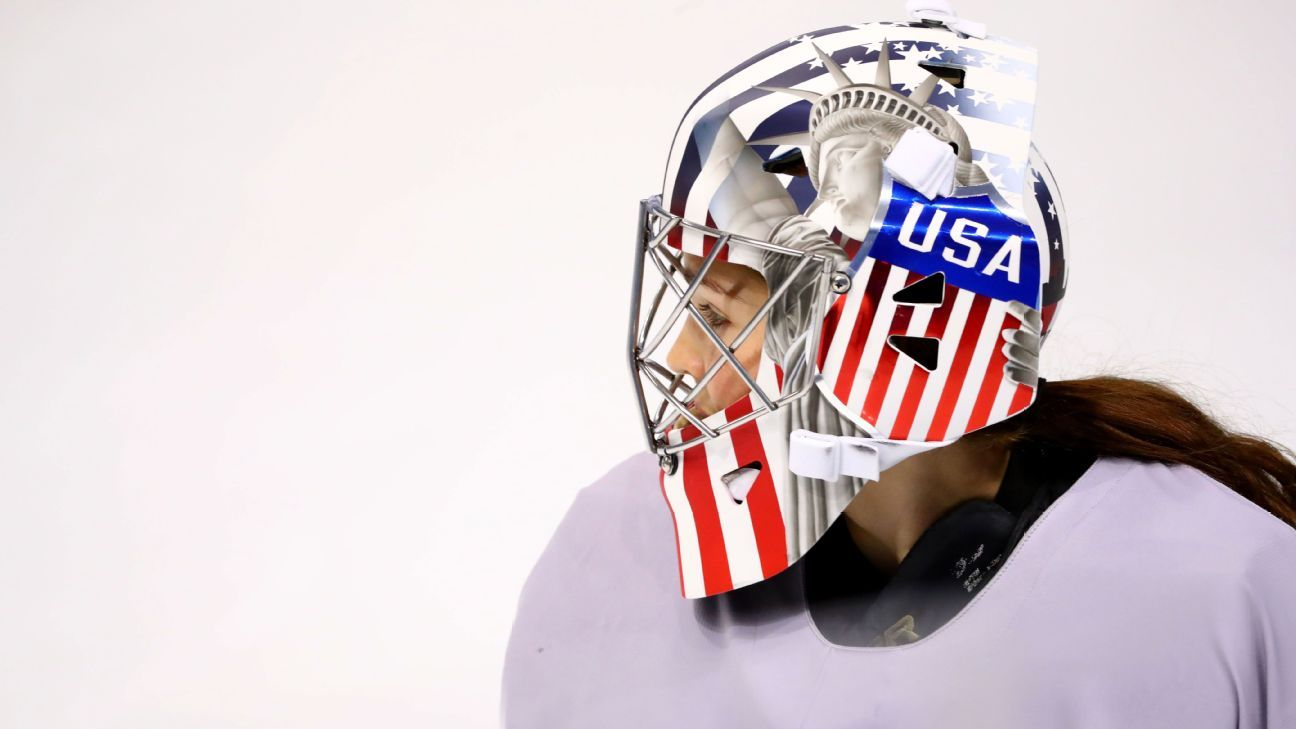 Usa Hockey Says Statue Of Liberty Image On Goalie Masks Approved