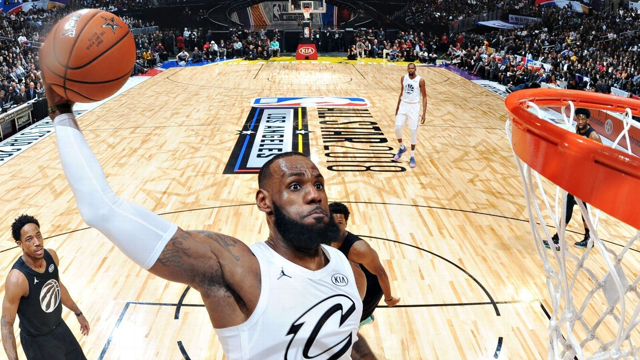 f71706eda777 Cleveland Cavaliers  LeBron James named 2018 All-Star Game MVP