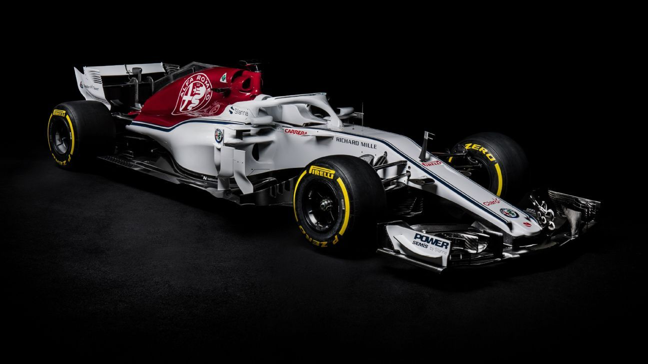 Sauber Launches Alfa Romeo-backed 2018 Car