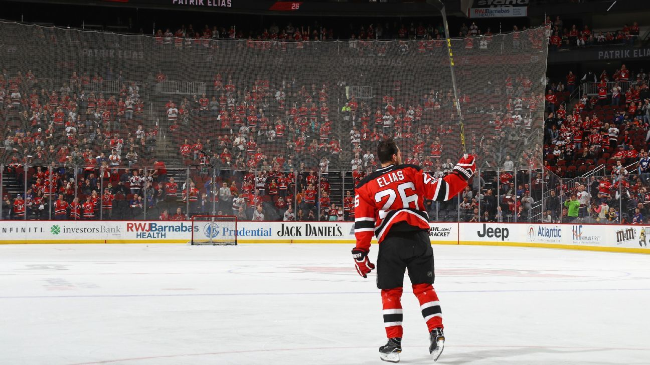 574d8adac0b NHL - Patrik Elias on New Jersey Devils number retirement, the A Line,  nearly joining the New York Rangers and more