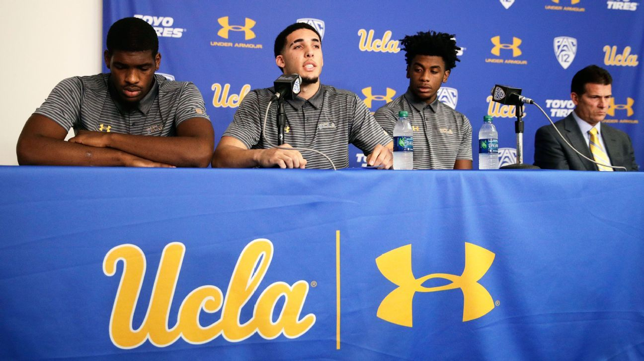 b343a333d UCLA Bruins Jalen Hill and Cody Riley are the forgotten names of an  international incident