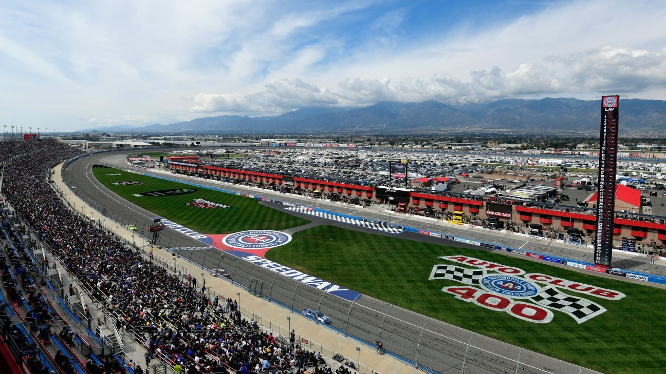 Auto Club Speedway planning five wide salute for NASCAR Auto Club 400