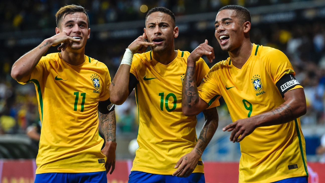 3f6f02775 Neymar usual suspects headline Brazil World Cup squad