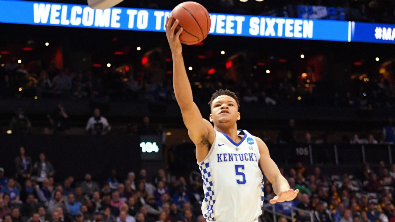 NBA draft prospect Kevin Knox pressed by team over child he doesn t have 4284dbbdfea