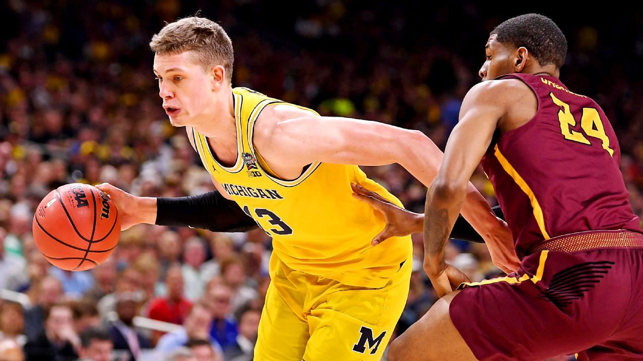 72bb84af1b7 NCAA tournament Final Four Moe Wagner s Michigan Wolverines career really  is a dream come true