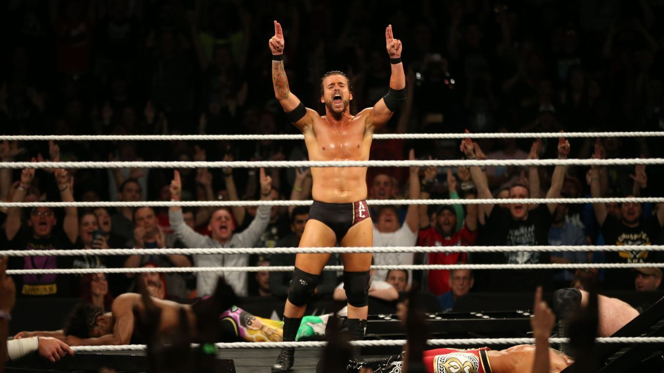 Nxt Takeover New Orleans Aleister Black Adam Cole And