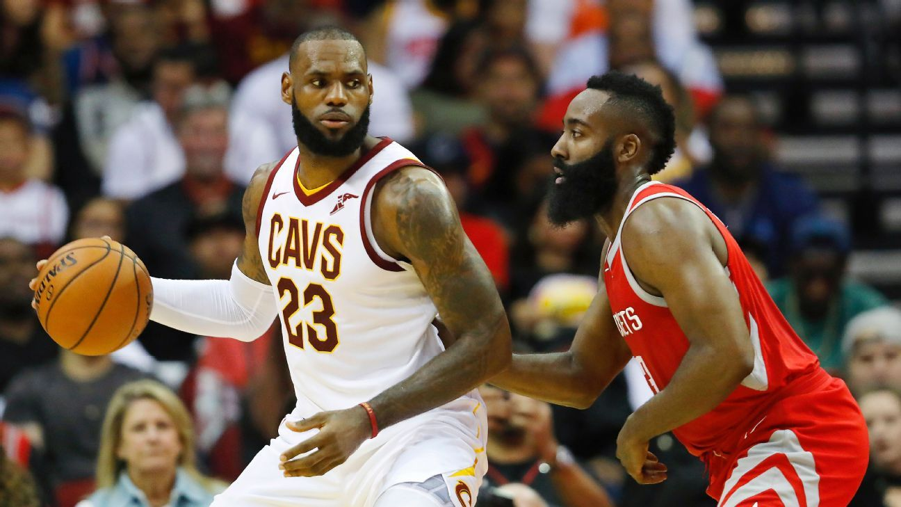 d10a81069 LeBron James to the Houston Rockets this summer  Here s how it could happen  - NBA