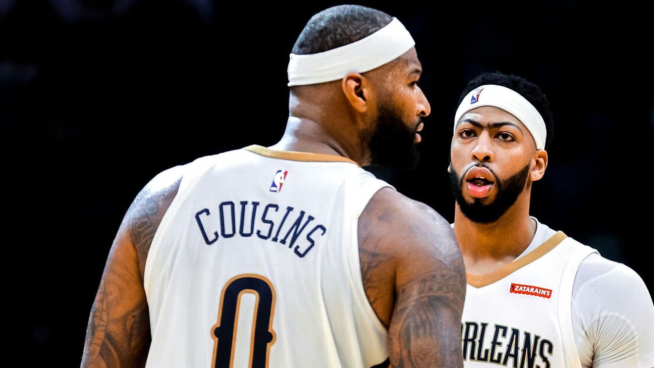 f15950a7ae9 Zach Lowe on Anthony Davis, DeMarcus Cousins and the New Orleans Pelicans -  NBA playoffs