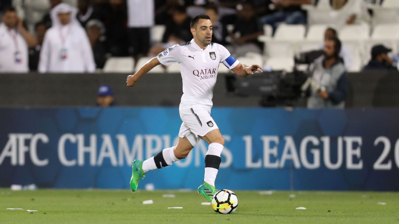 official photos c88b3 d828e Xavi Hernandez not ready for retirement and hopes to play ...