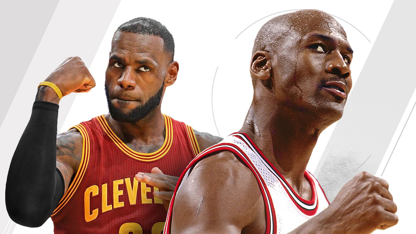 0767cf4c9672 Is LeBron James or Michael Jordan the greatest NBA player of all time