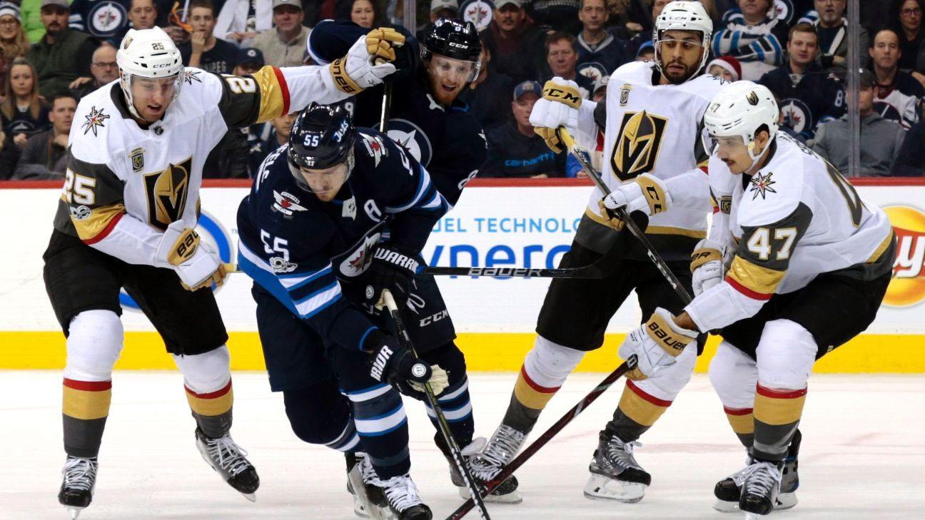 0902a96ef 2018 Stanley Cup Playoffs - Vegas Golden Knights vs. Winnipeg Jets - series  preview